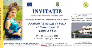 Festivalul Borșului de Pește – Crișan, 2018