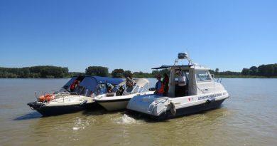 Video: Acțiune de control pe Dunăre, la Tulcea
