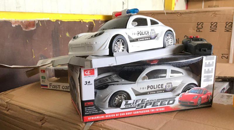 Jucării contrafăcute confiscate de Garda de Coastă