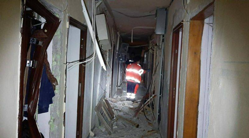 Tulcea: 56 de garsoniere afectate de explozia unei butelii
