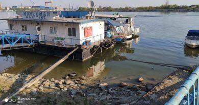 Tulcea. Cotă istorică a Dunării pentru această perioadă