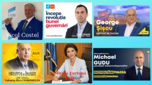 Parlamentarii tulceni aleși în mandatul 2020-2024