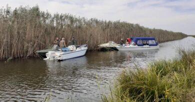 Amenzi pentru nerespectarea regimului navigației în Delta Dunării